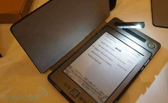 Ebook Reader: arriva Solar Kindle