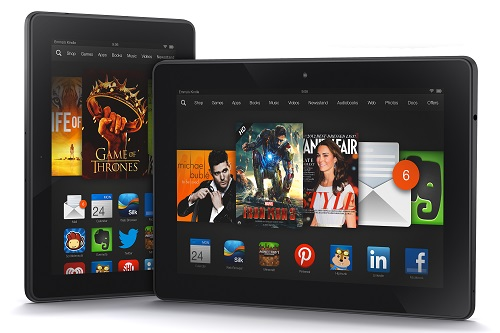 "I due nuovi Kindle Fire HD da 7"" e 8.9"""