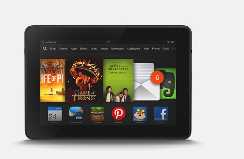 Il nuovo Kindle Fire HD da 7""