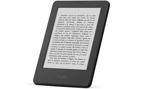 Amazon vende il Kindle Touch Screen a soli 59 euro